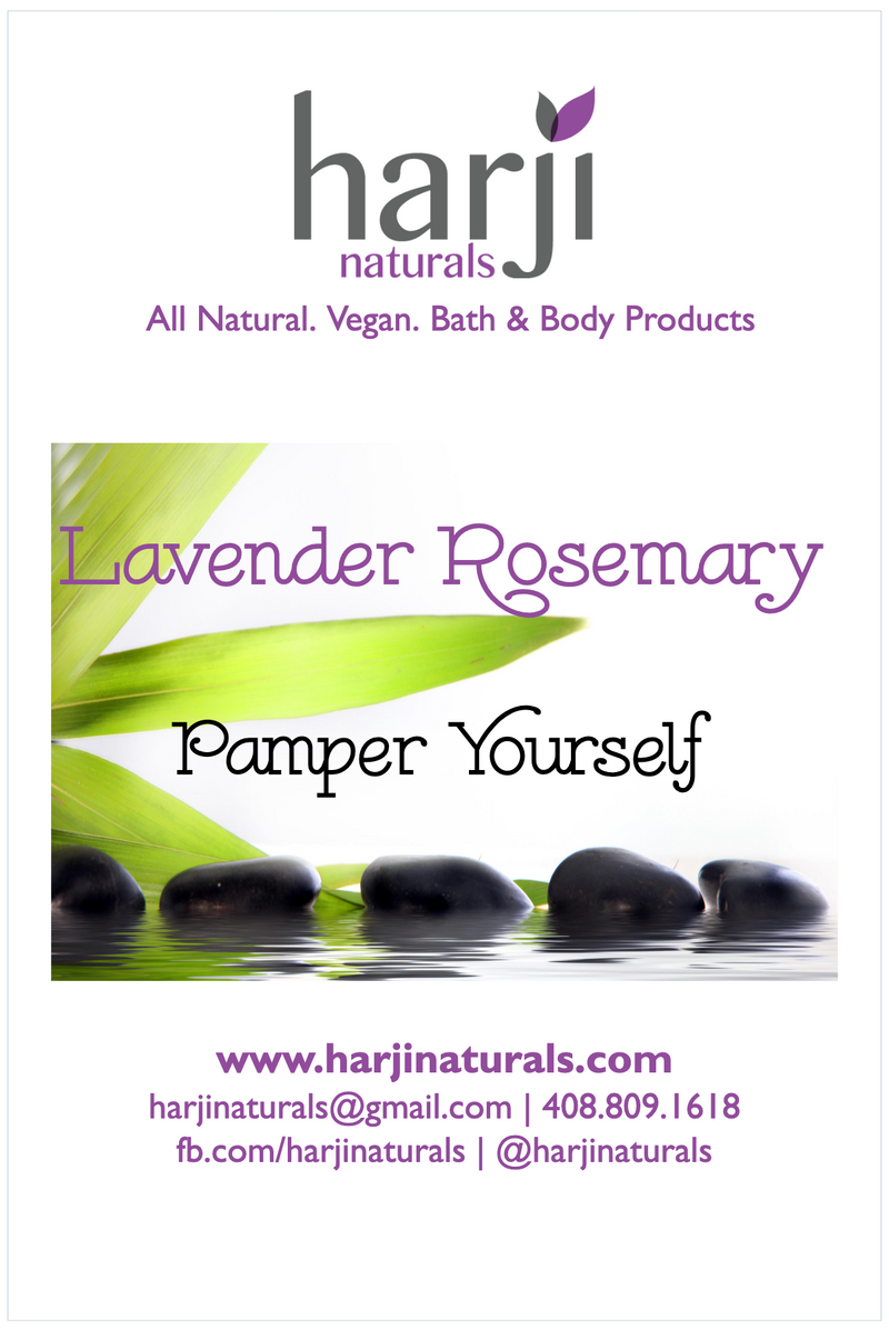 Pamper Yourself Gift Set (Lavender Rosemary)