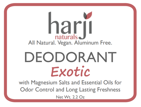 Exotic Deodorant (Sandalwood Based)(2.2Oz)