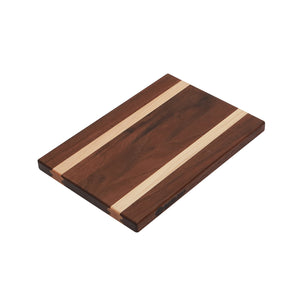Walnut with Maple Accent Bread Cutting Board