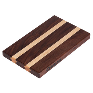Walnut with Maple Accent Cheese Cutting Board