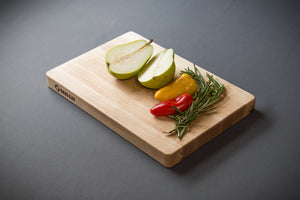 "1"" Thick Prep Cutting Board with Rounded Corners"