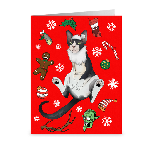 Holiday Horror Greeting Card