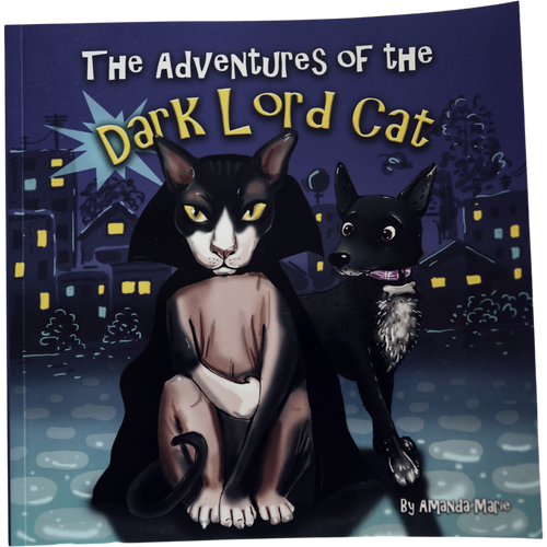 The Adventures Of The Dark Lord Cat Paperback Book