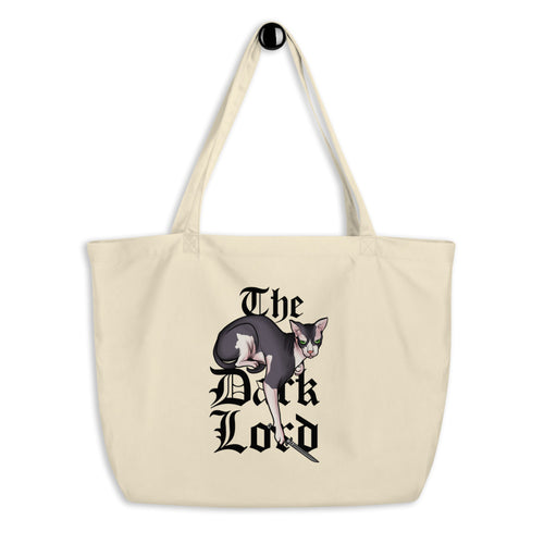 Try Me Large Organic Tote Bag