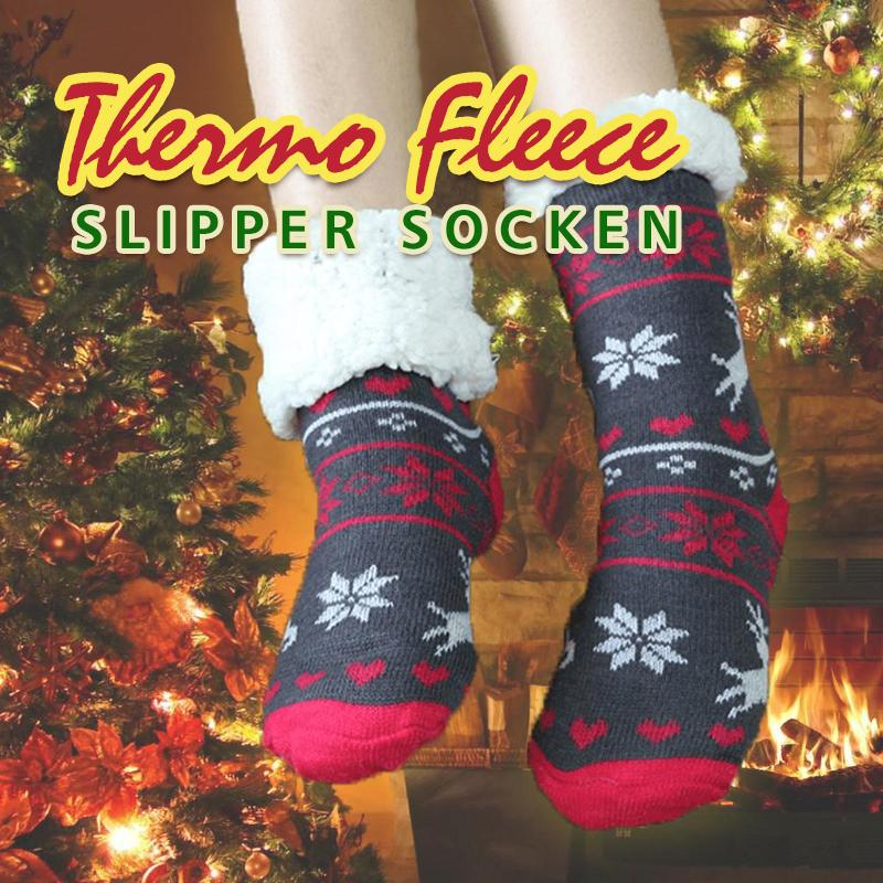 Thermo Fleece Super Weiche Slipper Socken - hallohaus