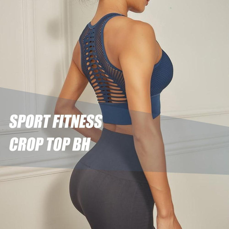 Sport Fitness Crop Top BH - hallohaus