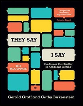 """They Say / I Say"": The Moves That Matter in Academic Writing 3rd Edition - PDF Version"