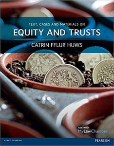 Text, Cases and Materials on Equity and Trusts 1st Edition - PDF Version