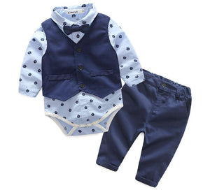 Sail Boat Smart Bowtie Outfit