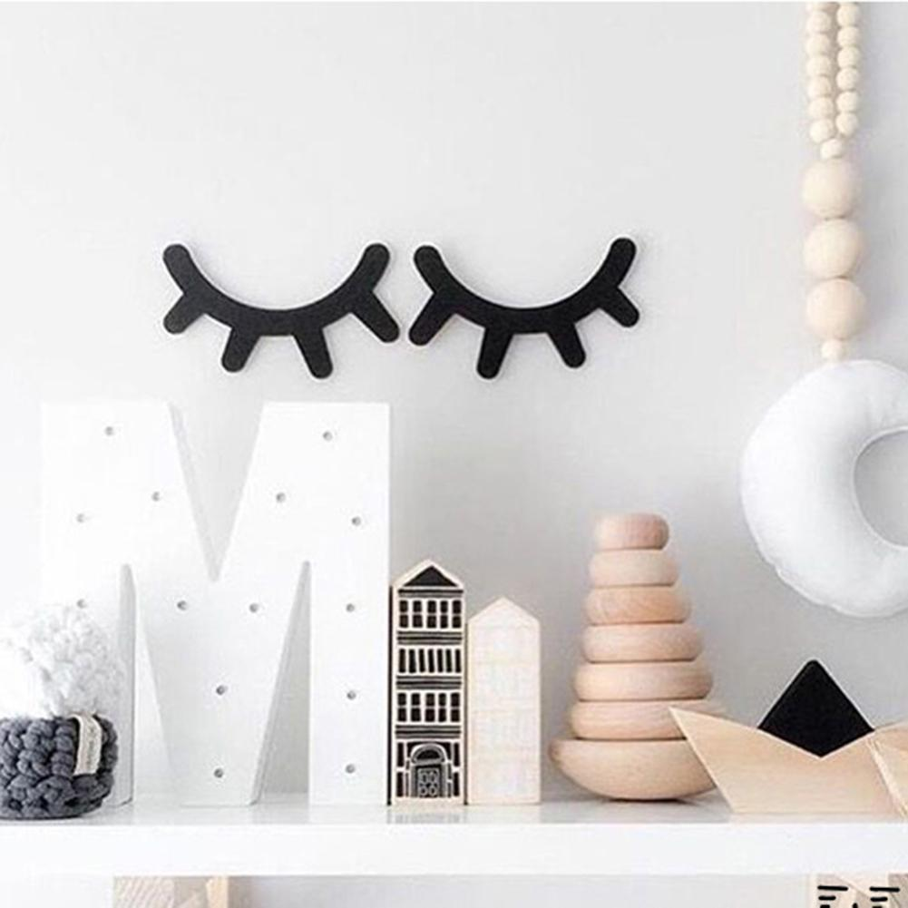 Wooden Eyelash Wall Decor Tiggys Boutique