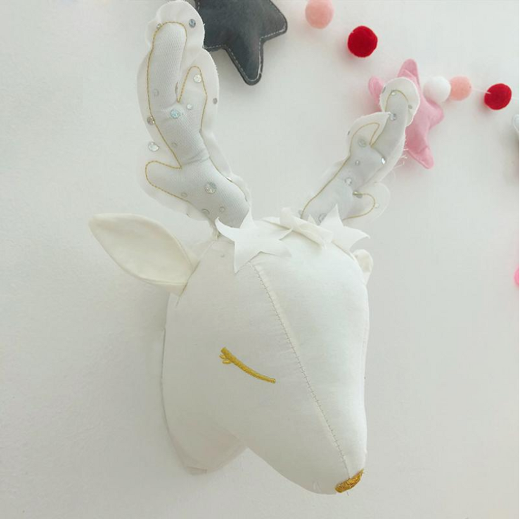 Reindeer Head Wall Mount