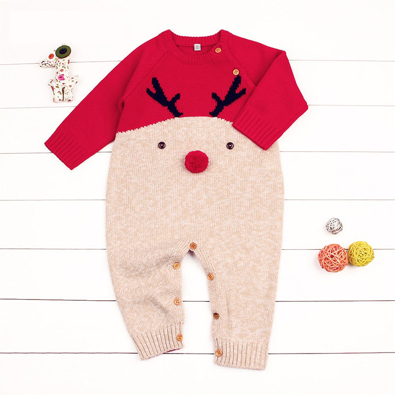 Rudolph Knitted Jumpsuit