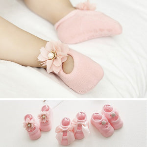 Cute Baby Bow Socks, Pack of 3