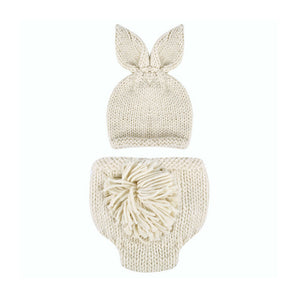 Knitted Rabbit Newborn Photography Props