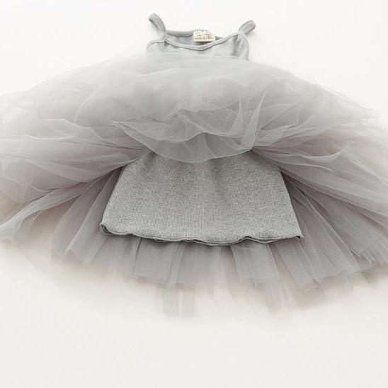 Casual A-Line Tutu Dress