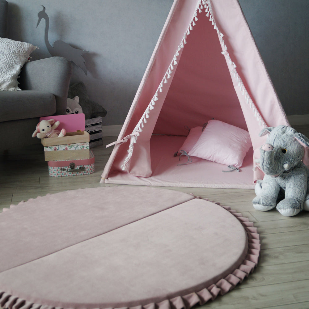 Velvet Foldable Play Mat