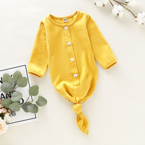 Basics Soft Button Sleeping Suit