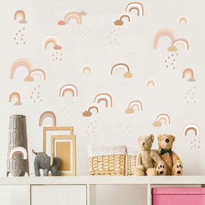 Soft Rainbow Wall Decals