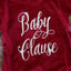 Baby Clause Velveteen Princess Romper