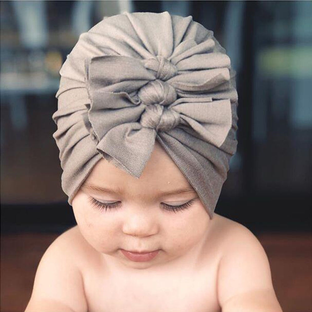 Triple Bowknot Headwrap