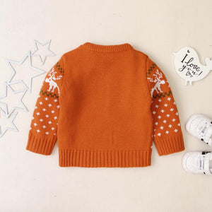 Baby Christmas Snowflake Sweater