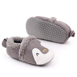 Soft Fleece Baby Animal Shoes, Various Designs