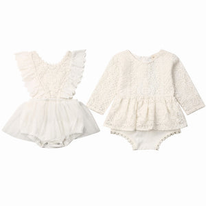 Boho Lace Romper, Two Styles