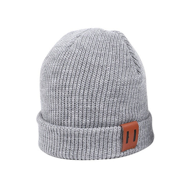 Soft Knit Neutral Beanie