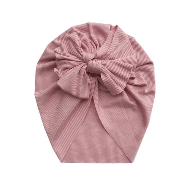 Bow Ribbed Headwrap