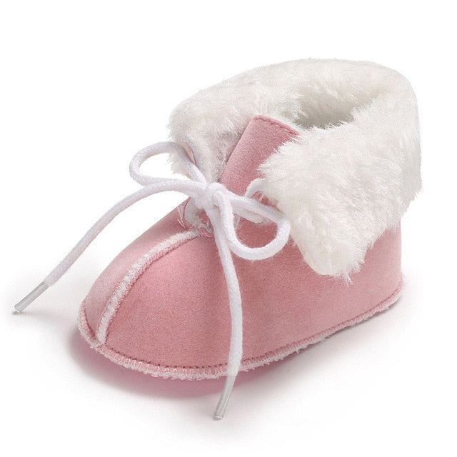 Soft Sole Winter Fleece Boots