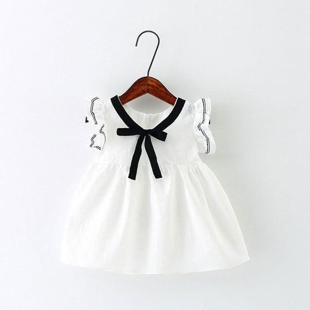 Bow Neck Summer Dress