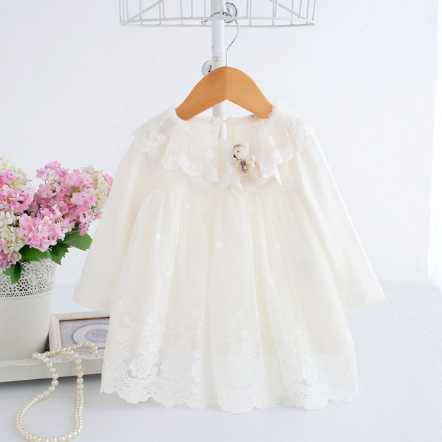 Beautiful Baby Girl Lace Christening Dress
