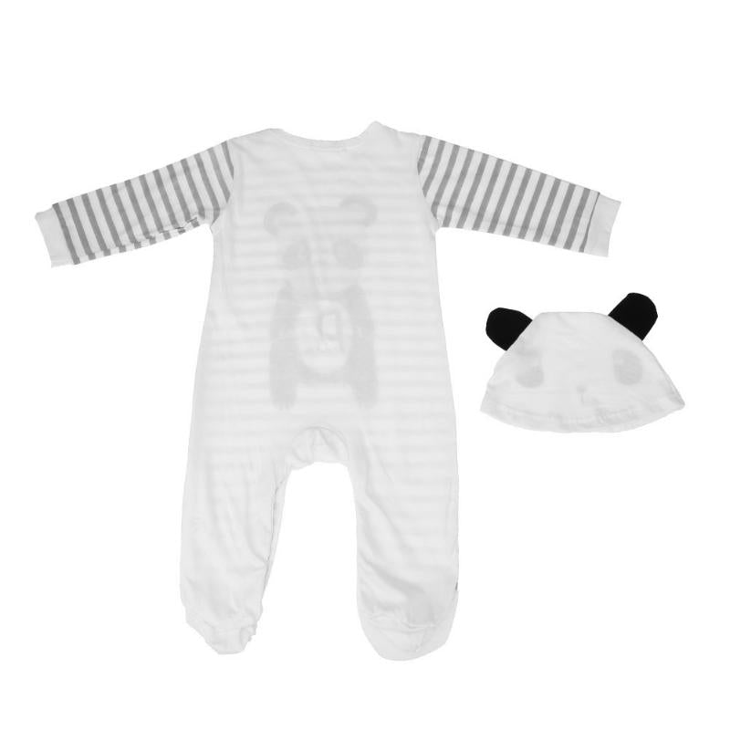 Panda Jumpsuit with Hat