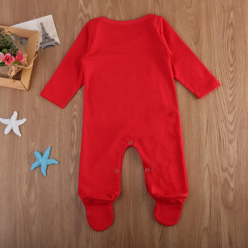 My First Christmas Baby Jumpsuit