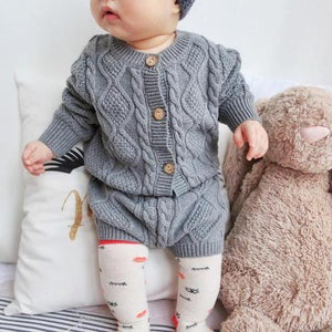 Premium Knitted Cardigan & Bloomers Set