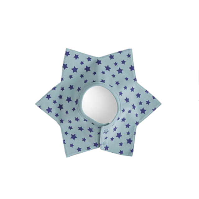Star Collar Baby Bib