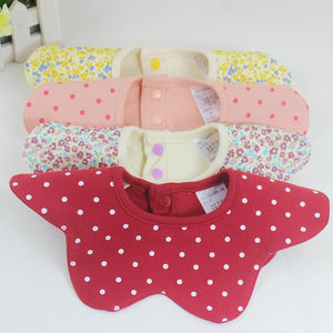 Floral Collar Baby Bibs