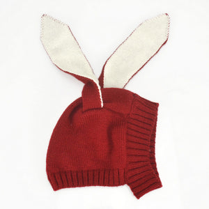 Rabbit Ear Knitted Beanie