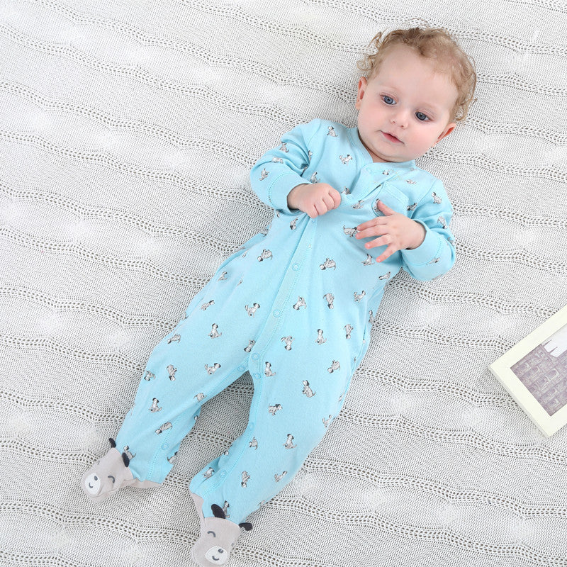 Cosy Toes Puppy Dog & Unicorn Jumpsuit