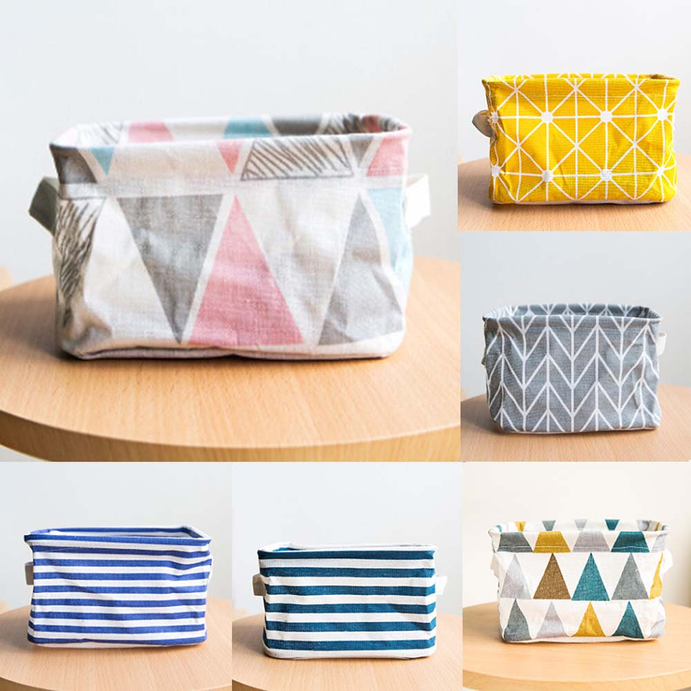 Geometric Pattern Storage Container