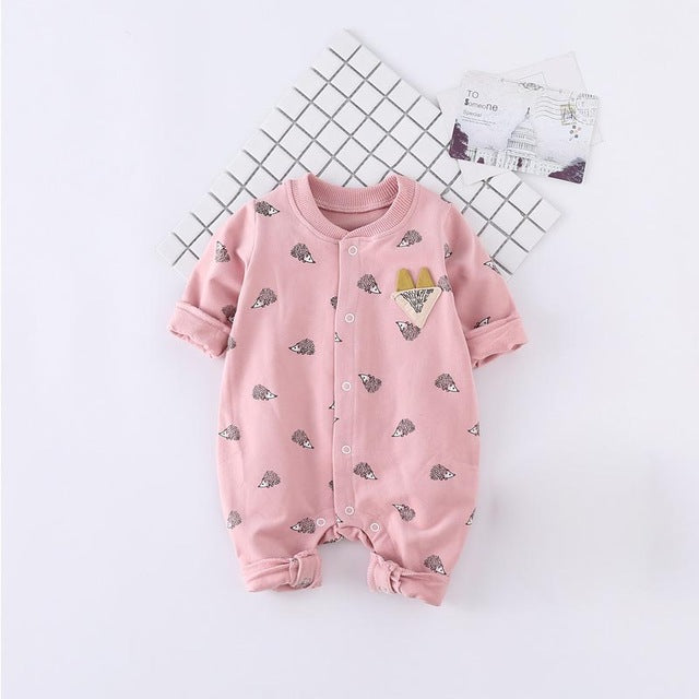 Hedgehog Print Jumpsuit
