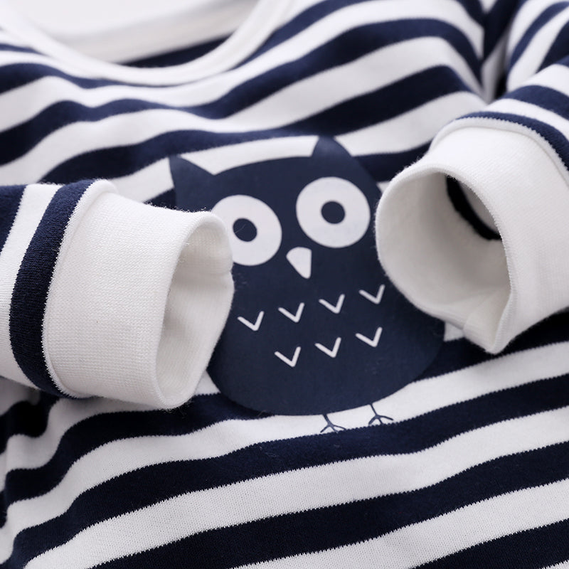 Baby Owl Jumpsuit, Hat & Bib Set