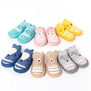 Animal Baby Slippers with Grip