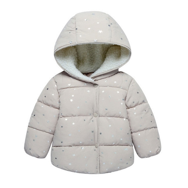 Star Sparkles Hooded Jacket