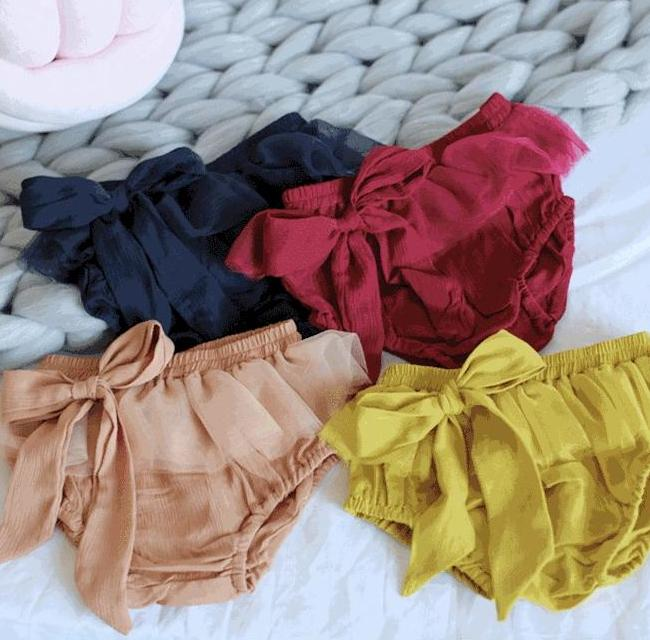Baby Girl Bow Bloomers