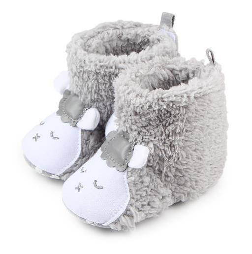 Cute Fluffy Winter Animal Booties