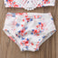 Summer Two-Piece Toddler Floral Swimsuit
