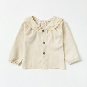 Chic Collar Button Blouse