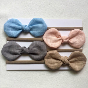 Butterfly Bow Headbands, Set of 4