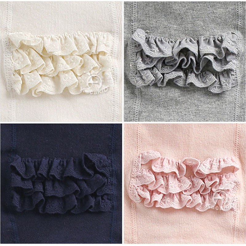 Cute Baby Ruffle Tights